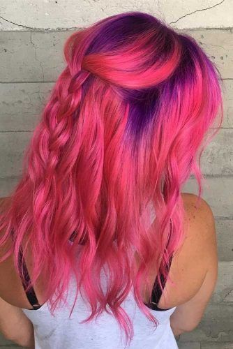 36 Pretty Pink Ombre Hair To Try Immediately Geile Haarfarben