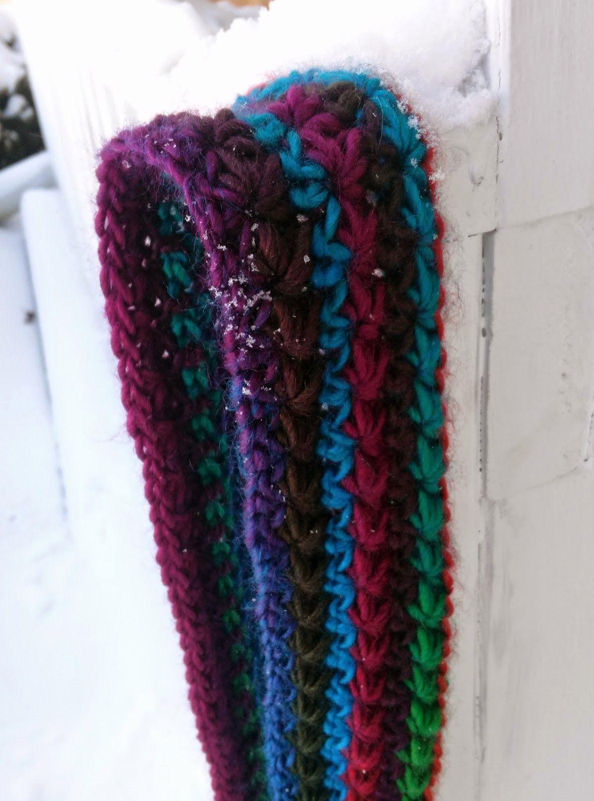 Event Horizon Infinity Scarf - Free crochet pattern by Sarah ...