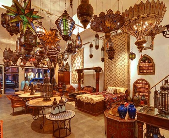 Beautiful Moroccan Home Decor Ideas Part - 9: Décor Featuring The House : Moroccan Furniture Decor Classic Moroccan