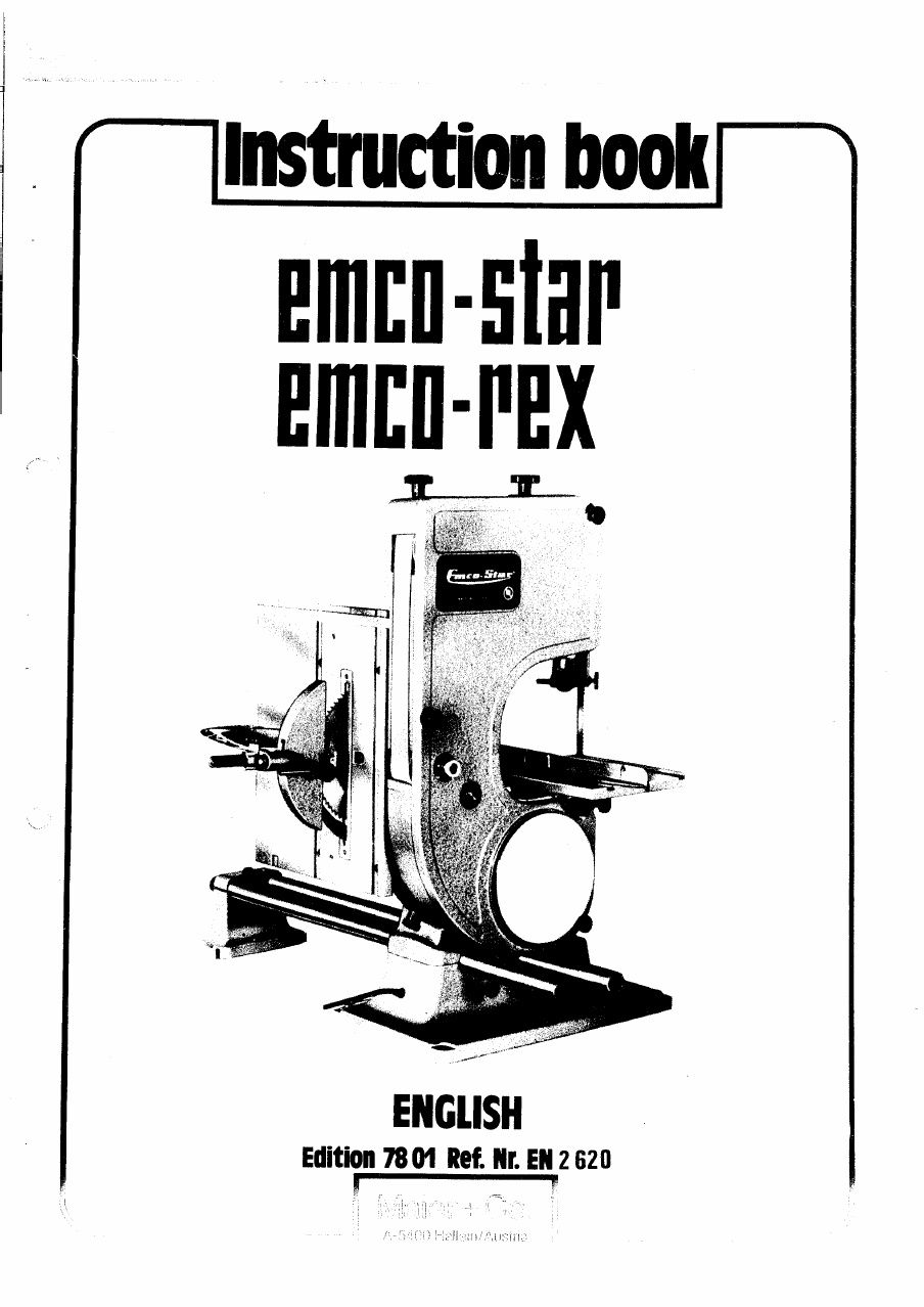 Emco star manual.pdf in 2019