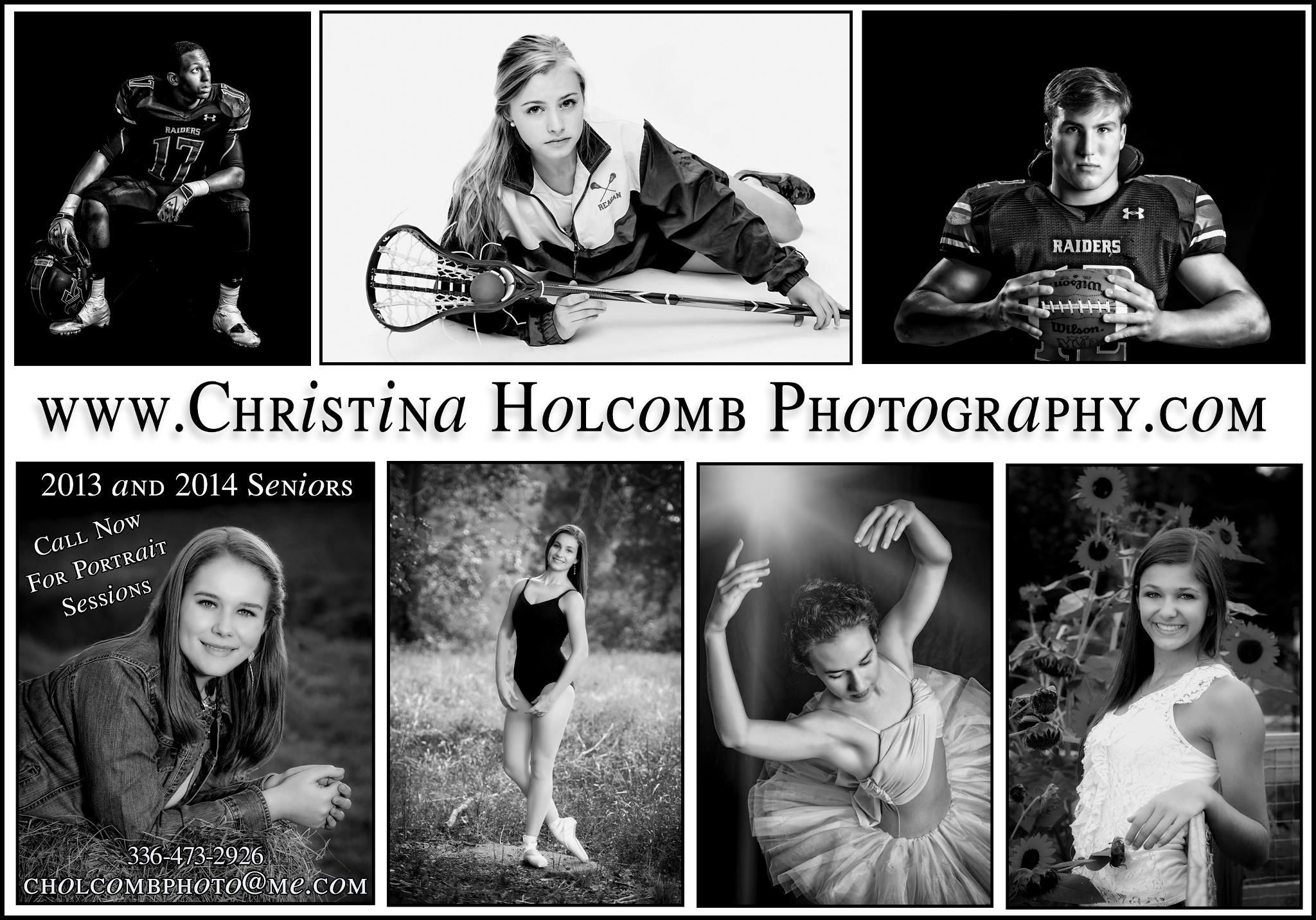 In studio or on location, capturing your Senior year.