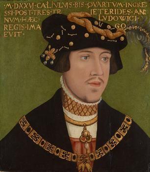 King Ludwig II of Hungary, 1522
