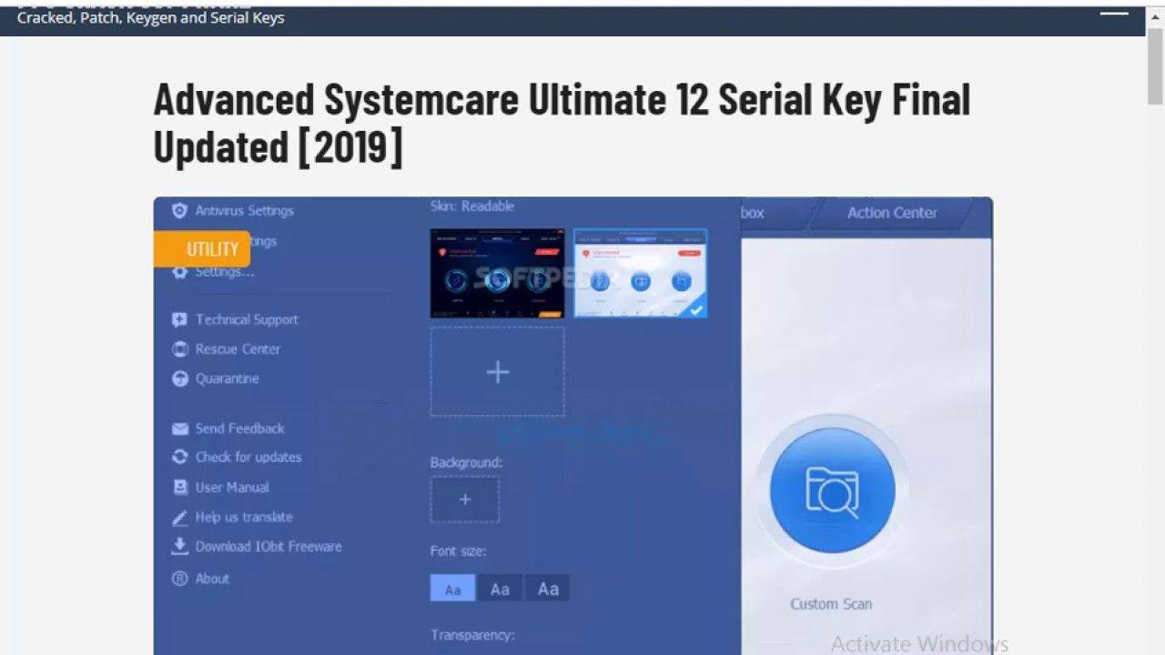 advanced systemcare 11 pro full mega