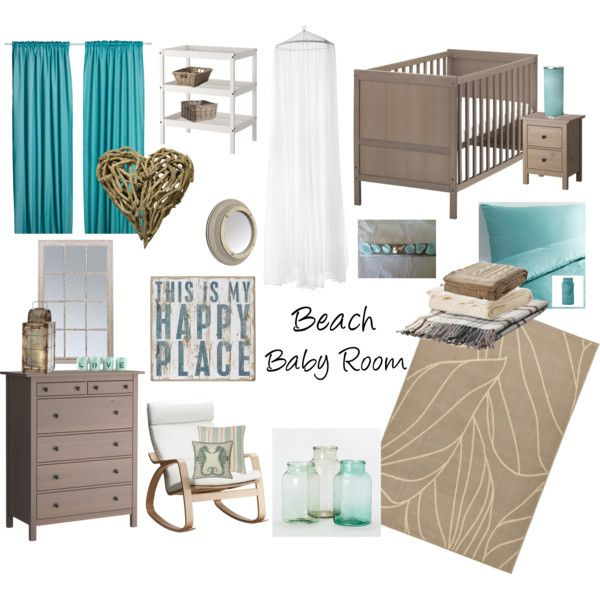 Beach Baby Room But Take Out The Heart Make For A Boy