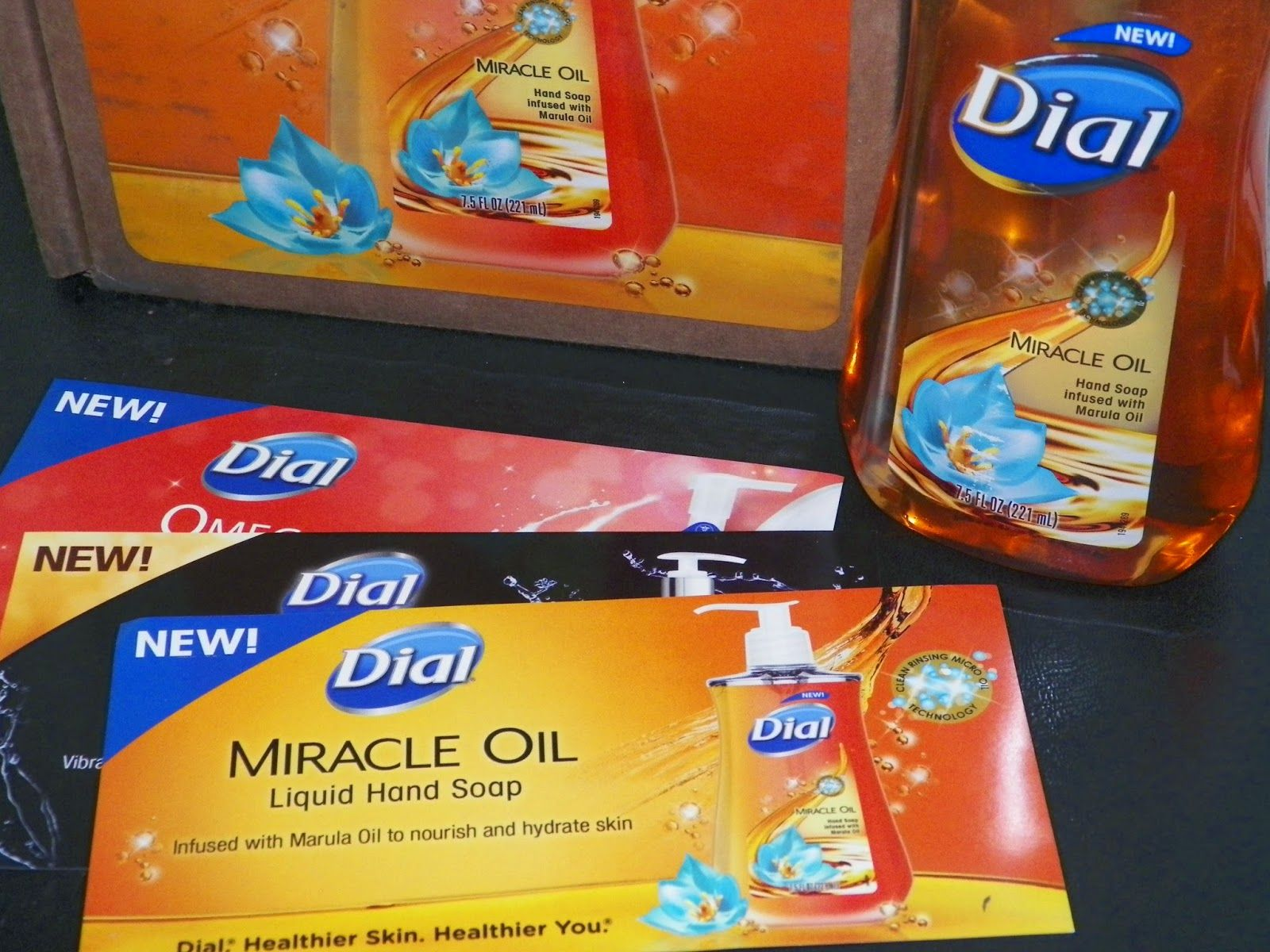 Dial miracle oil liquid hand soap review giveaway 3