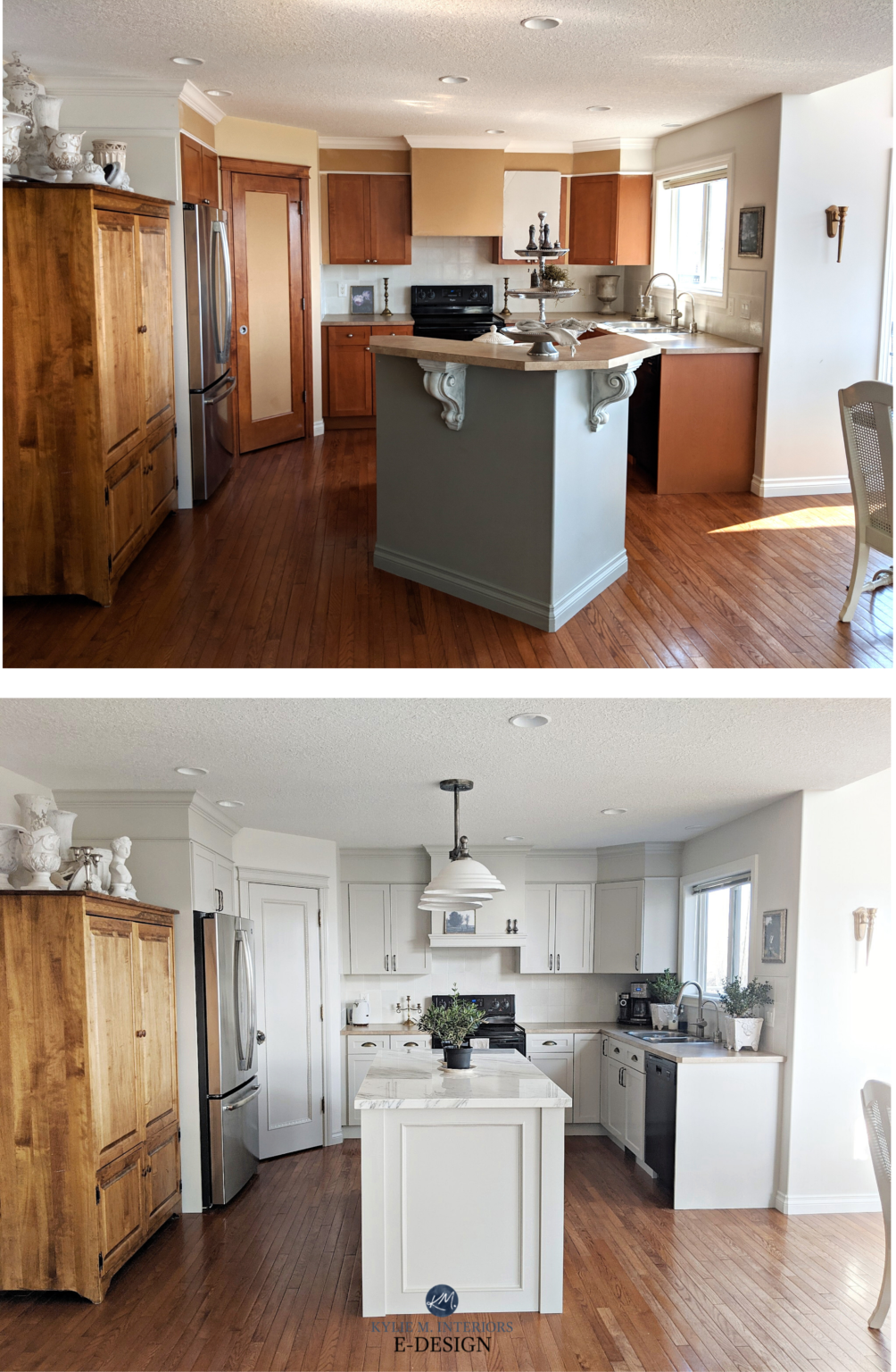 Should I Paint My Oak Cabinets or Keep them Stained? A ...