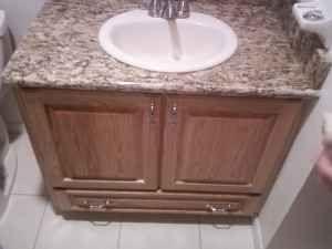 Bathroom Cabinets Lakeland Fl bathroom vanity builtshawn's custom cabinets lakeland, fl (863