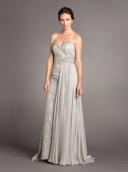Terani Womens Cropped Sleeve Gown, http://www.myhabit.com