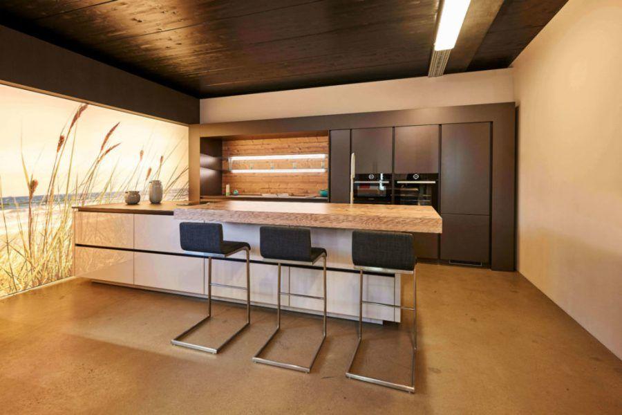 Moderne Küche mit Bar 6 Ideen für eine Bartheke aus Holz, Stein und - küche mit bar
