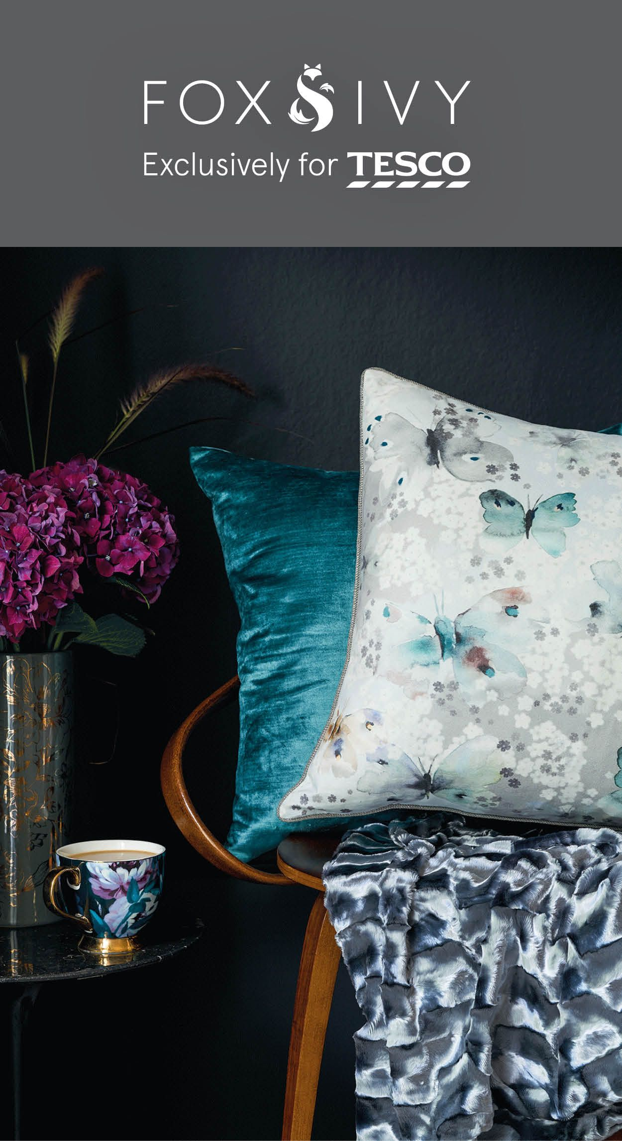 Layer up contrasting colour texture and pattern with a little help from fox s unique to you and your living space