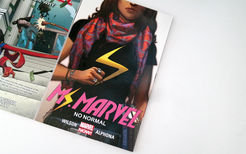 Ms.Marvel Comic   No Normal & Generation why