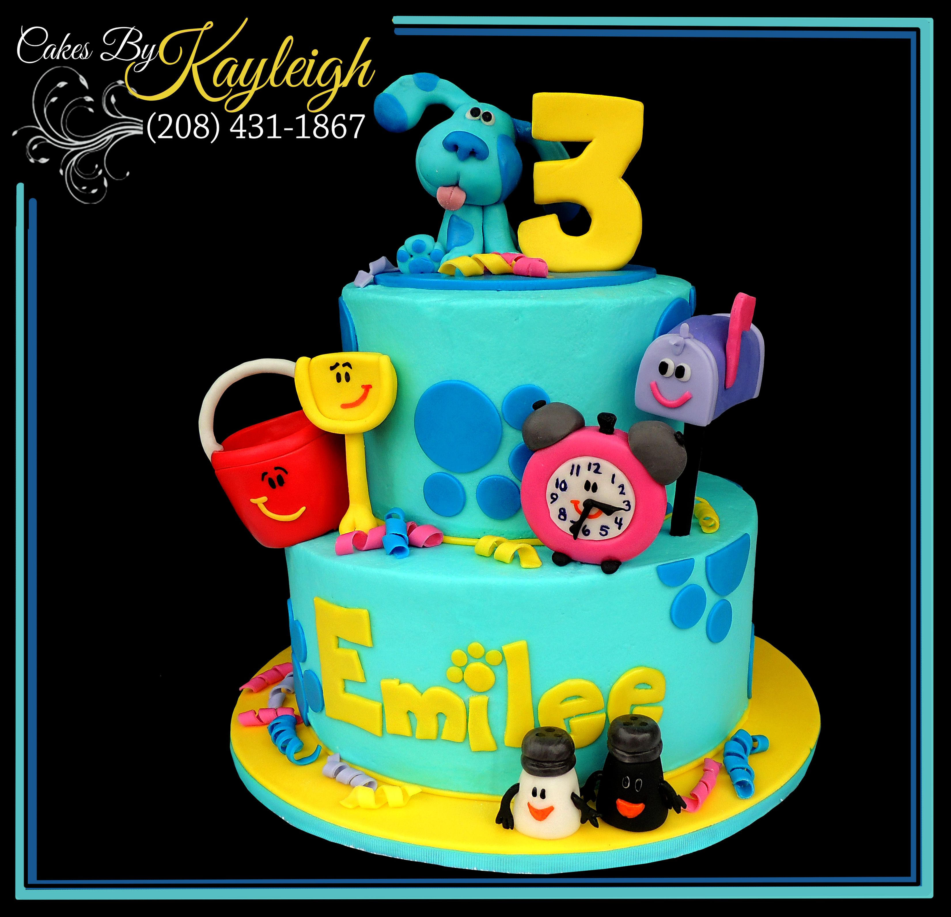 blues clues birthday cake this adorable cake is perfect for any