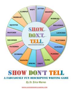 descriptive writing games