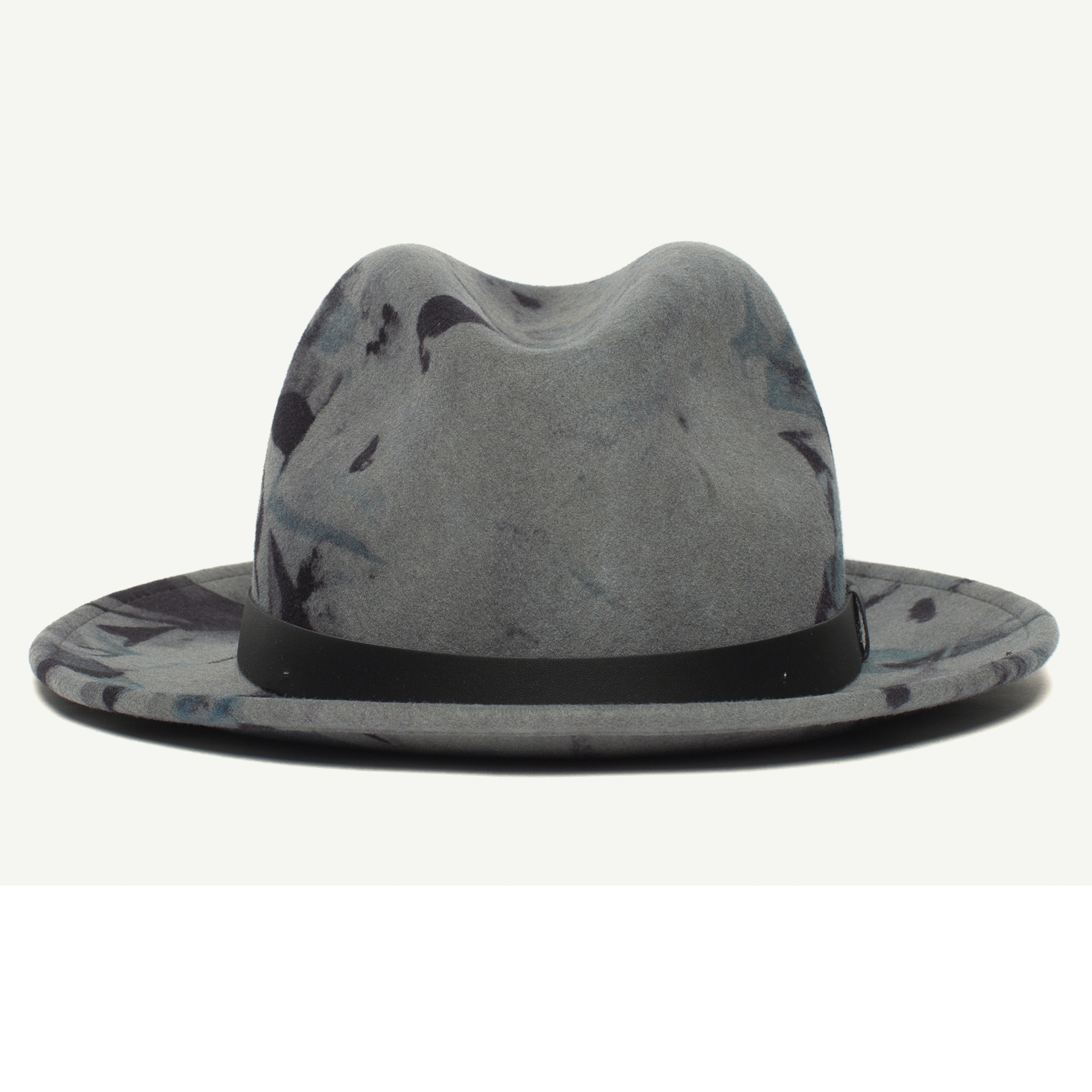 51ad69f8dabbc Dean The Butcher wool wide brim fedora Men s hat made in America by Goorin  Bros.