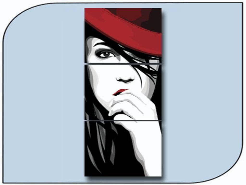 Cuadro con cara de mujer mis favoritos abstracto cuadros modernos y pinturas - Bimago cuadros modernos ...