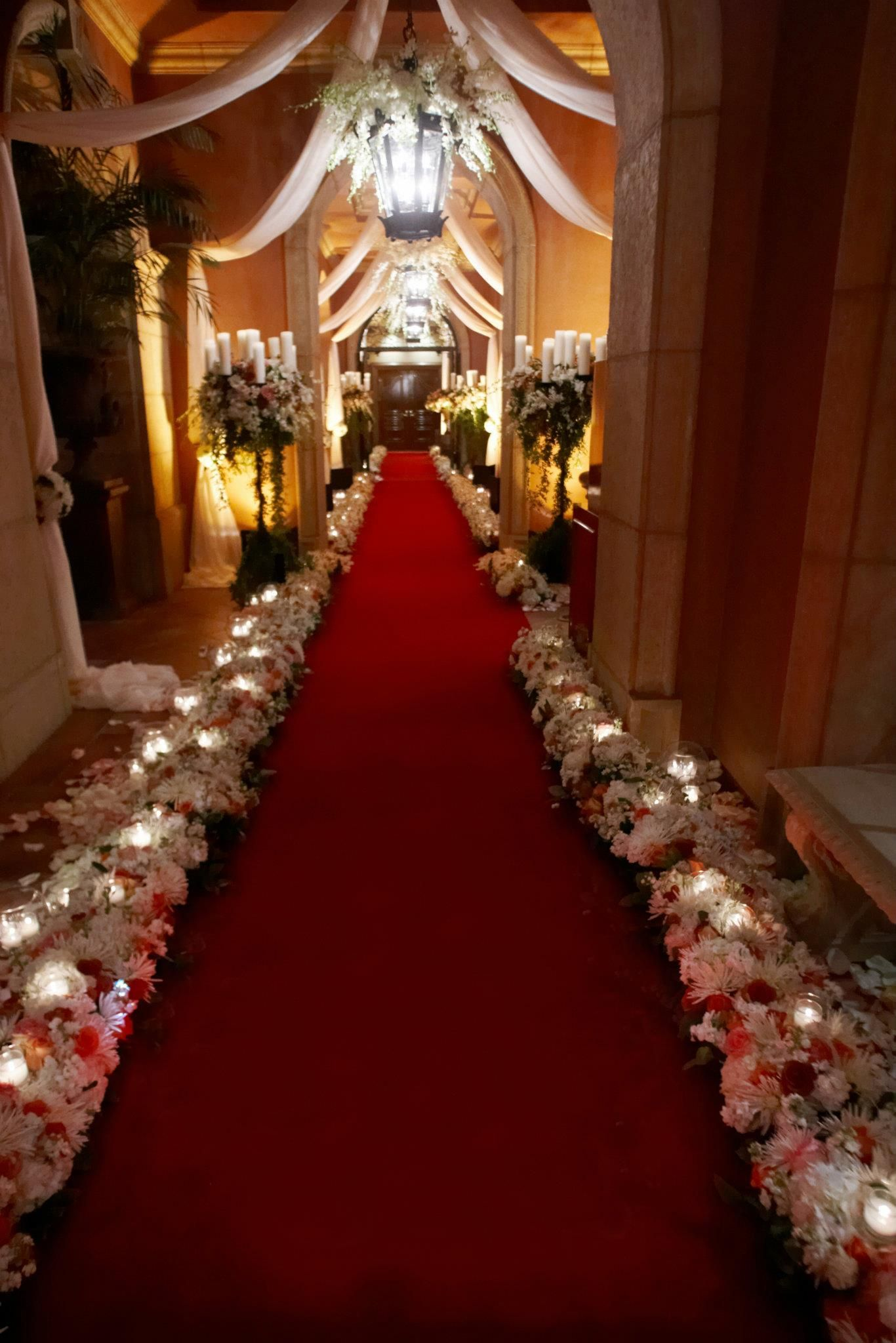 Ballroom Wedding Ceremony Set Up Breathtaking Entrance