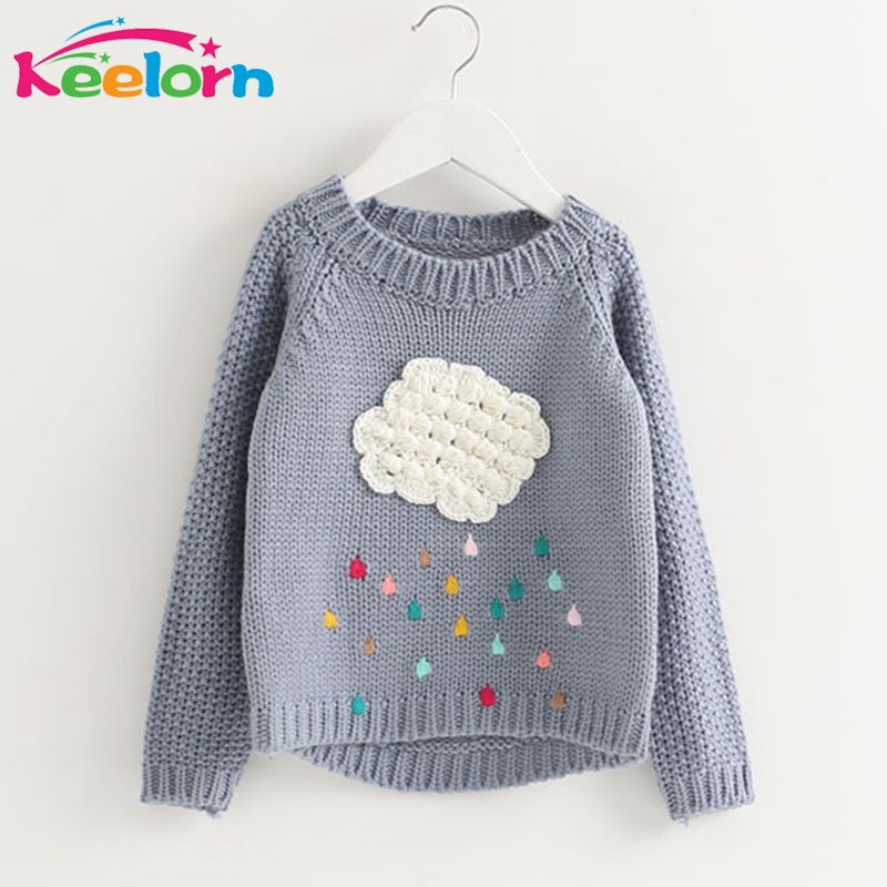 417291b0a Keelorn Girls Clothing 2017 Winter Pullover Children Sweaters ...