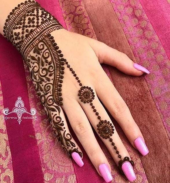 Henna hand arts on hands \u0026 foot