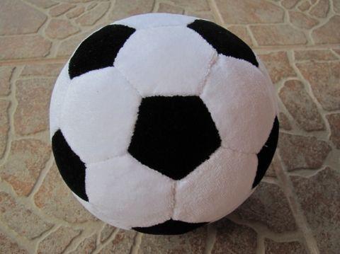 Plüss focilabda (15 cm), Baba-mama-gyerek, Férfiaknak, Játék, Gyerekszoba, Meska
