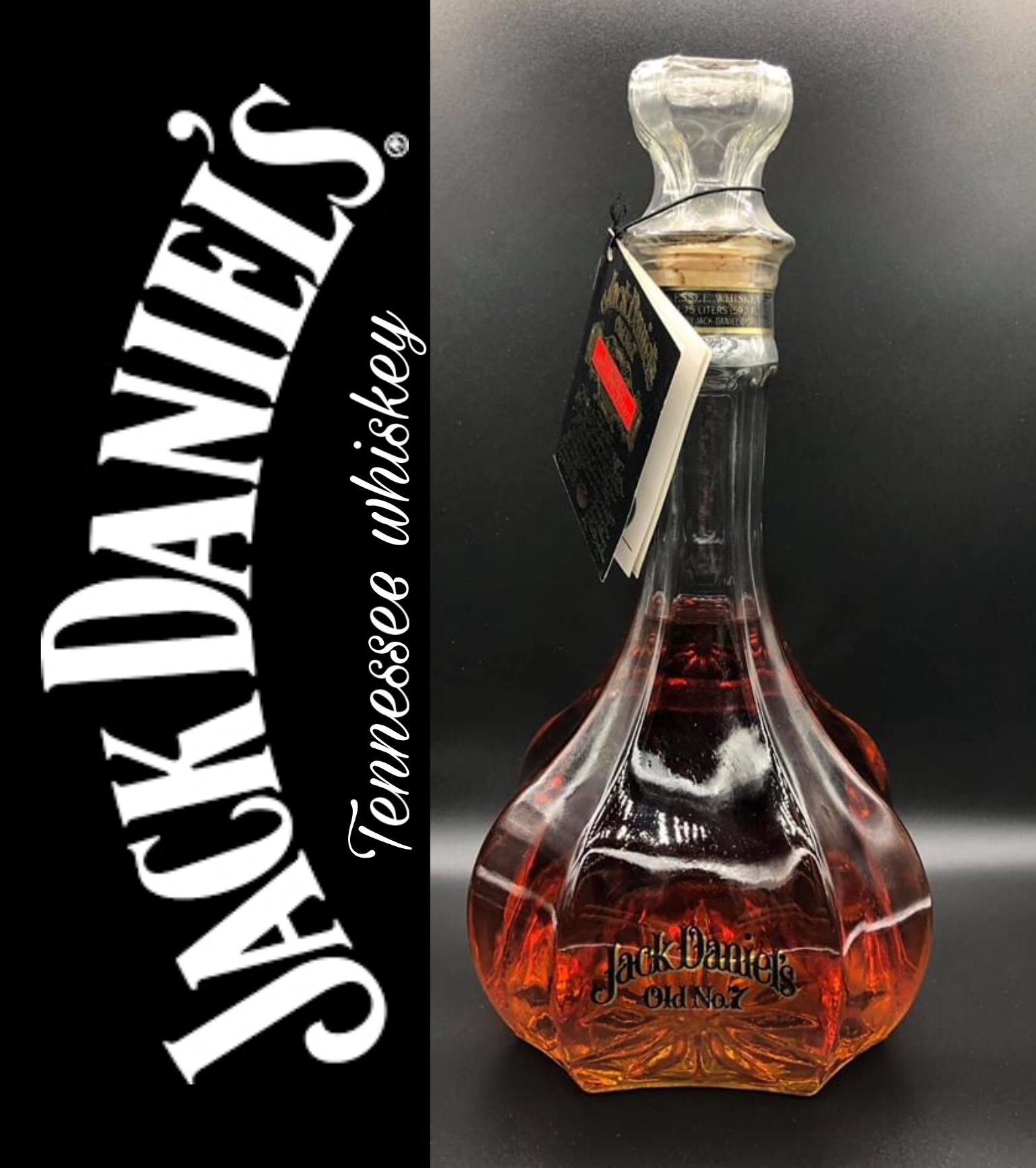 Jack Daniel S Decanter Jack Daniels Bottle Jack And Coke Jack Daniel S Tennessee Whiskey