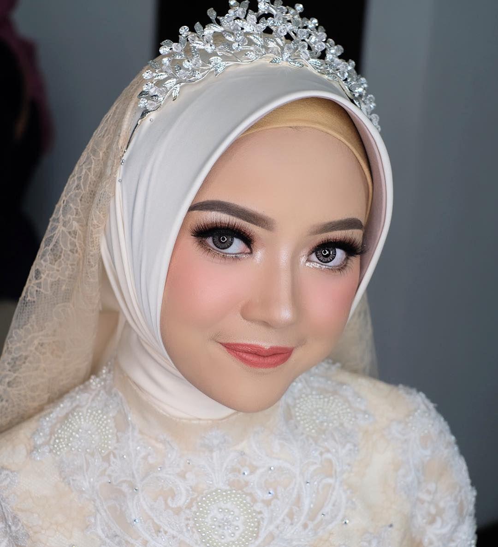 Vonny Hijab Ayyih Kebaya Berkatkebaya Rias Wajah Pengantin Kerudung Pengantin Pengantin Wanita