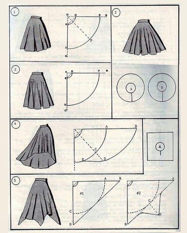 Dikiş Fikirleri Ve Detayları dikisdetay  Fotos e vídeos do Instagram skirt skirt skirt skirt outfit skirt for teens midi skirt