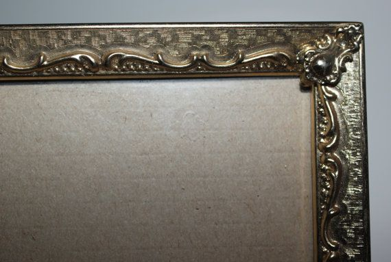 Vintage Gold 11x14 Metal Picture Frame Large Picture Frame Gold Decor Ornate Picture Frame Metal Picture Frames Large Picture Frames Ornate Picture Frames