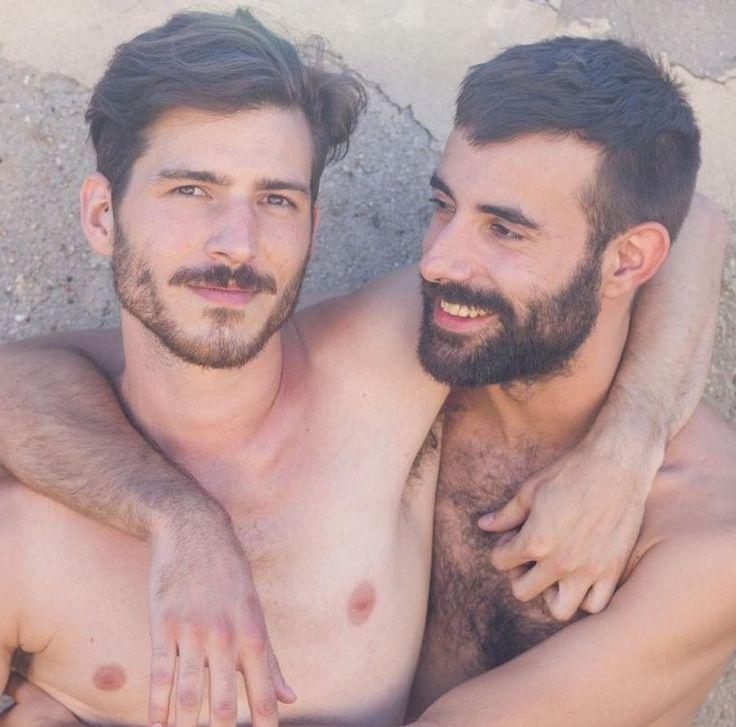 Фото бородатых геев