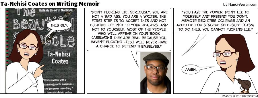 #21: Ta-Nehesi Coates on Writing Memoir (from Salon.com)