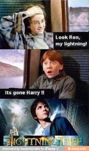 Percy Jackson Lightning Thief Harry Potter Train Harry Potter Memes Hilarious Harry Potter Jokes Harry Potter Funny