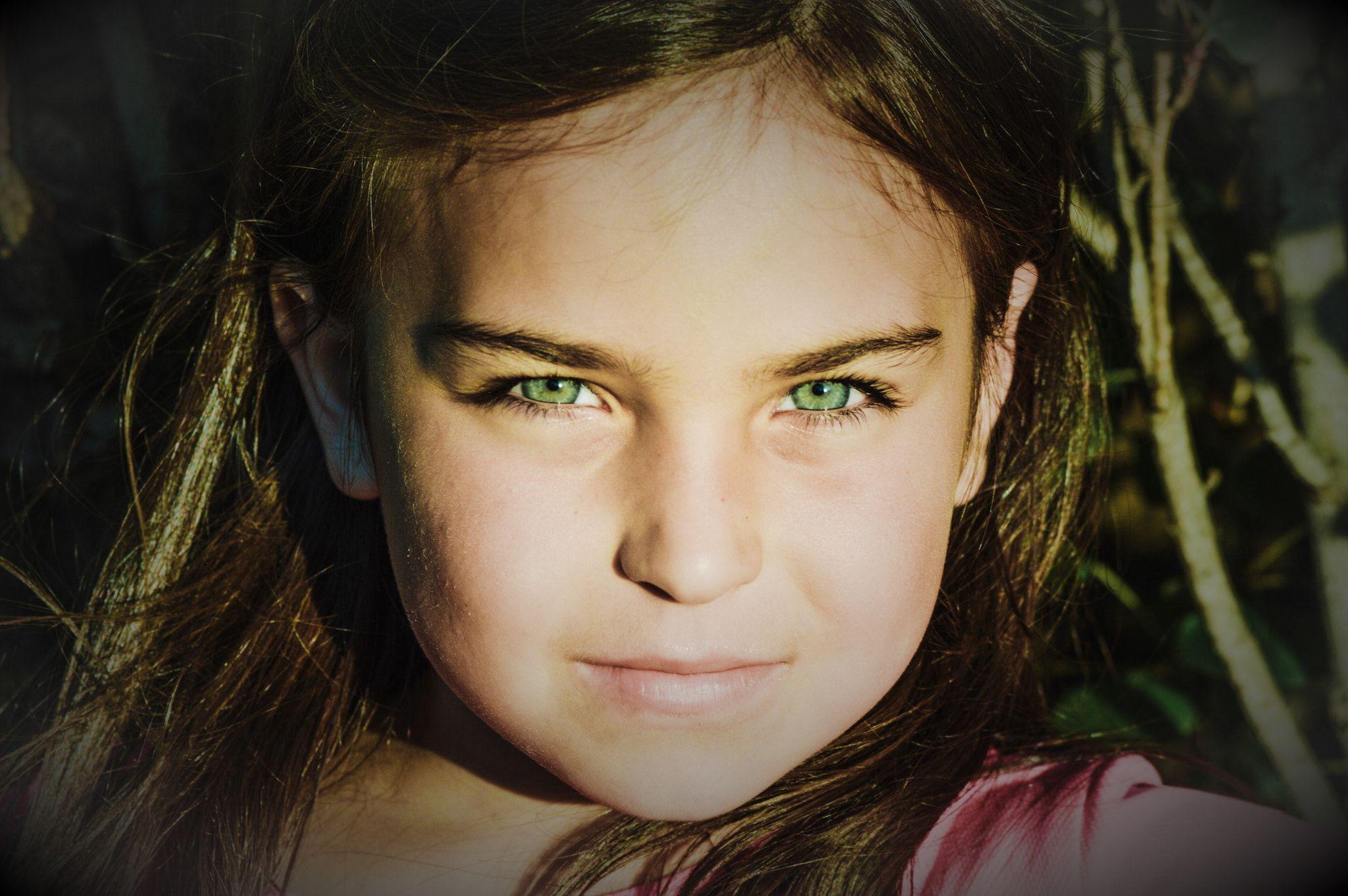 yeşil göz
