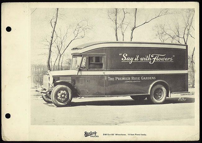 Vintage 1920 S Moving Truck Van Liberty Moving