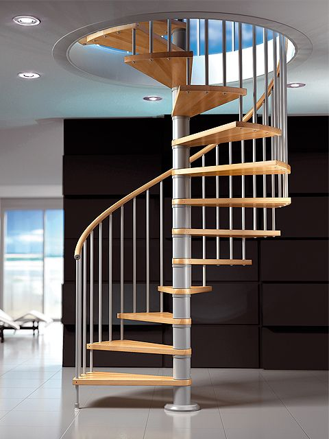 Escalera de caracol fox de maydisa for Ver escaleras de caracol