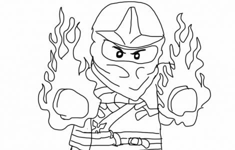 kai ninjago coloring pages | neo rita | pinterest