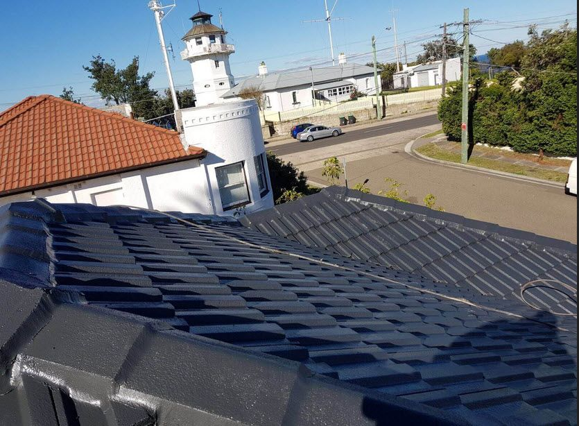 Roof Painting Service In Sydney In 2020 Roof Restoration Roof Paint Roof Cleaning