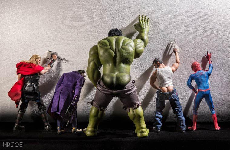 Fotógrafo Hrjoe cria divertidas imagens com Action Figures