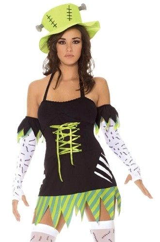 Cute halloween costume! I'd make it more tasteful though.