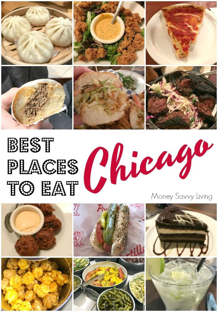 There is so much good food in Chicago! Here are some of the best places to eat in Chicago to find all of the Chicago-style classics! #chicago #bestinchow #foodtouchicago #wowbao #chicagobbq #chicagoq #comfortfood #travelchicago #travel #texasdebrazil #inamaetavern #safehouse #loumalnatis #portillos #alsitalianbeef #garrett #copperfox #hotasianbuns #deepdishpizza #hushpuppies #popcorn #poboysandwich #rodizio #caipirinha #chicagofood #chifoodplanet #chicagofoodtours #moneysavvyliving