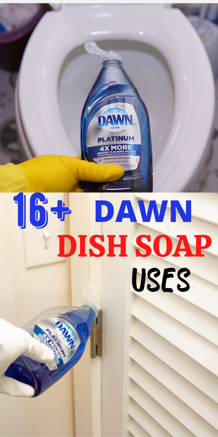 Dawn dish Soap Cleaning Methods You Never knew