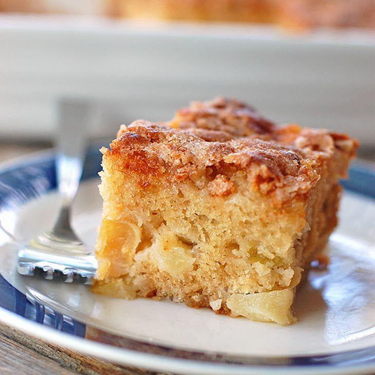 Cinnamon Sugar Apple Cake Recipe Yummly Recipe Apple Cake Recipes Desserts Cinnamon Sugar Apples