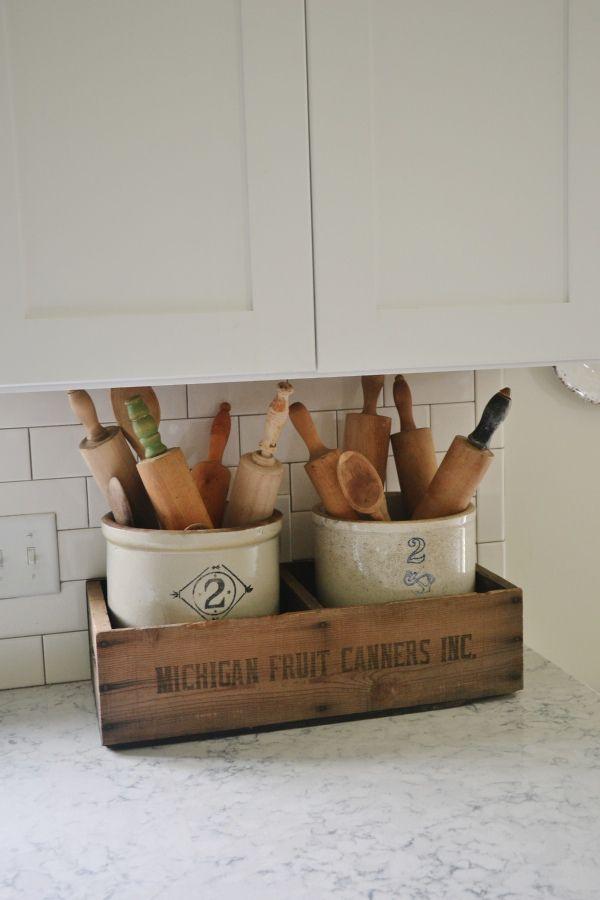 kitchen tool crock light fixtures home depot best 25+ antique wooden boxes ideas on pinterest | ...