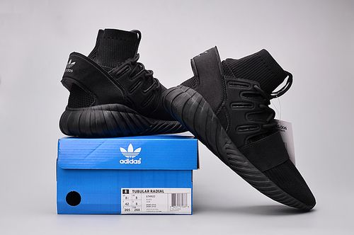 Adidas Originals tubular Nova Doom PK todo negro 982 zapatos
