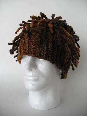 Funky Dreads Ski Hat - wonder if this would be a horrible or coveted ...