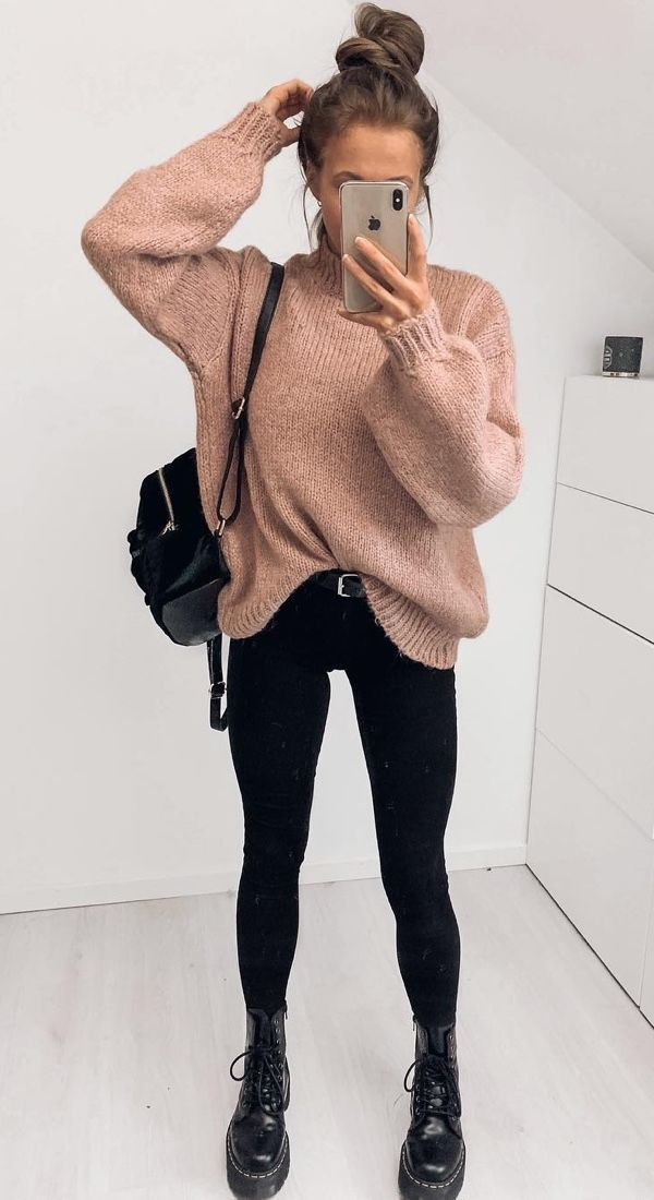 18 Cute Fall Outfits To Get You In The Sweater Weather Mood - #fallseason
