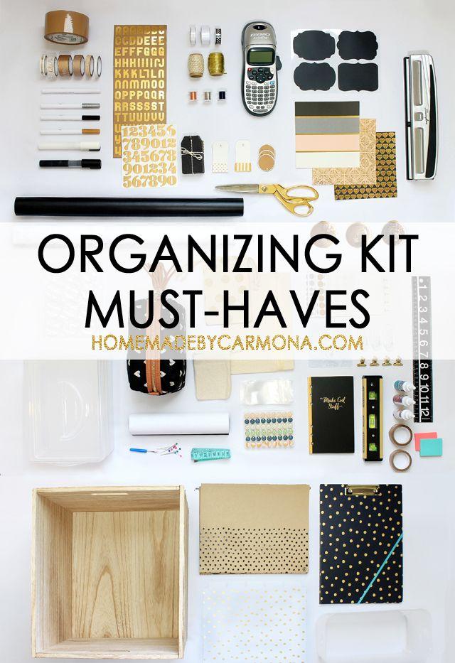 Organizing Kit Must-Haves