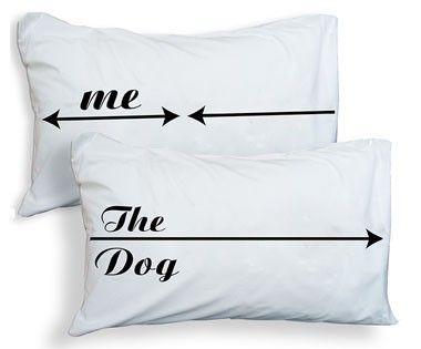 Dog Hogger Pillowcases (me the dog