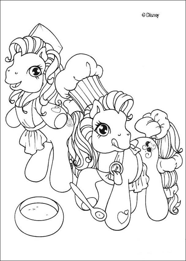 My Little Pony Coloring Pages Filly Colores Dibujos Para