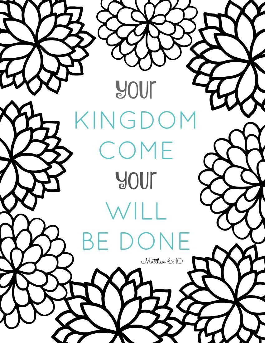 Free printable coloring pages for kids bible - Bible Verse Coloring Pages Collection