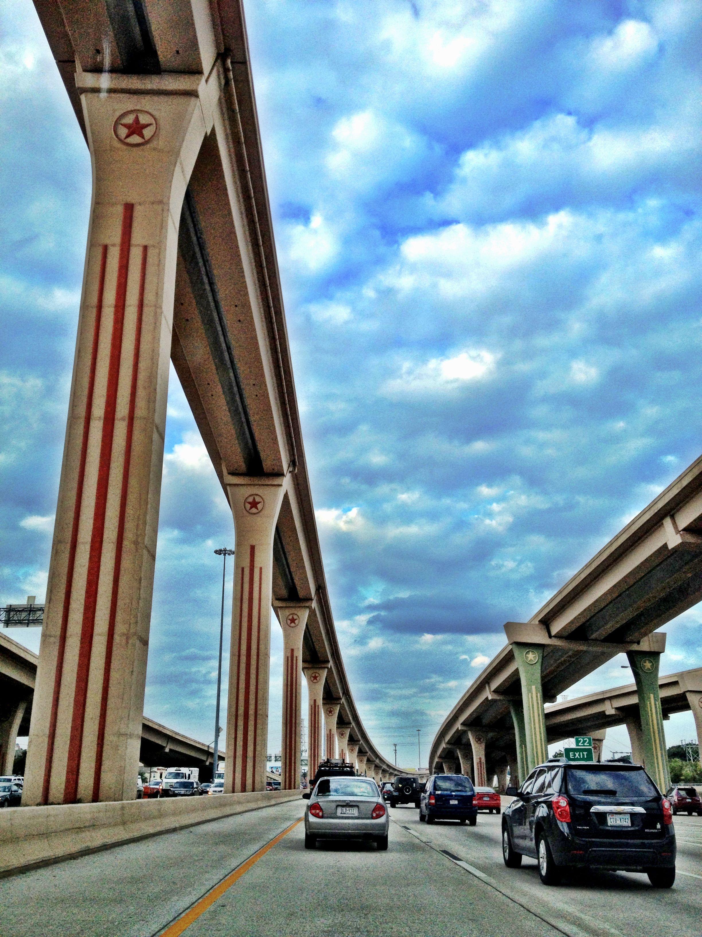 Freeway bridges dallas texas circling the freeway with