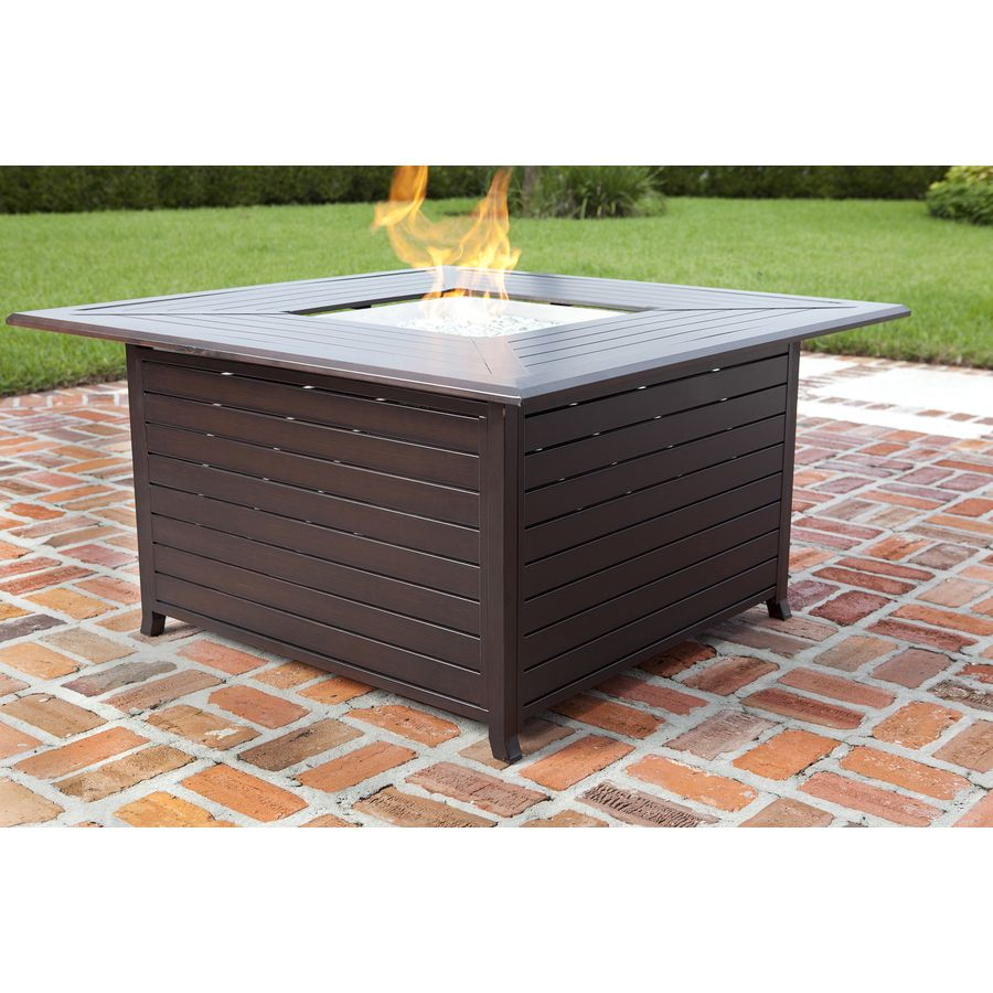 Shop fire sense in w btu bronze portable aluminum